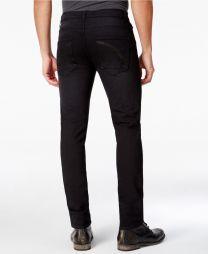 Danvars Men's Slim Fit Stretch Destructed Jeans