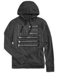 RYG0185H - Men's Zipper Flag Hoodie