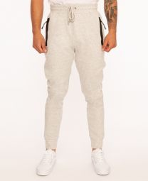 Jogger with Mesh Inserts