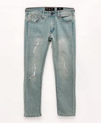 Cayenne Distressed Denim Slim-Fit Jeans, Big Boys (8-20)