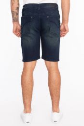Brad Denim Moto Short