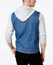 Denim & Fleece Men's Kick Back 2-In-1 Jacket